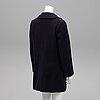 Burberry, a wool coat, size ca m.