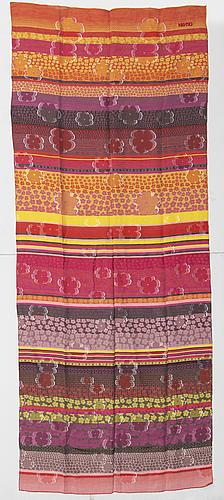 Three scarves by missoni, kenzo & yves saint laurent.