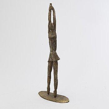 KAARINA TARKKA, bronze, signed and dated 1987.