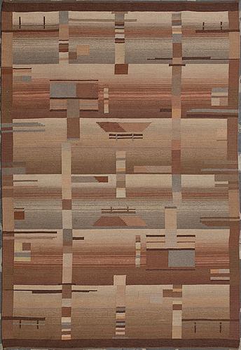 A 1930s finnish flat weave carpet.