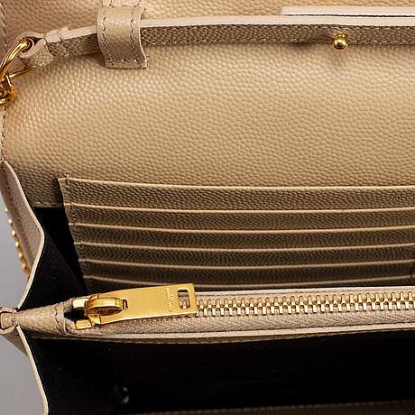 "Yves saint laurent, väska, ""chain wallet""."