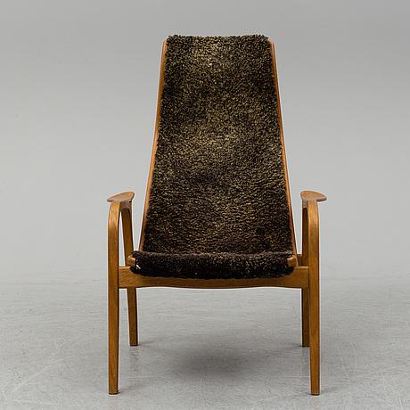 Yngve ekstrÖm, an oak 'lamino' easy chair from swedese.