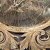 A silver bowl, undistinct mark, silver 800.