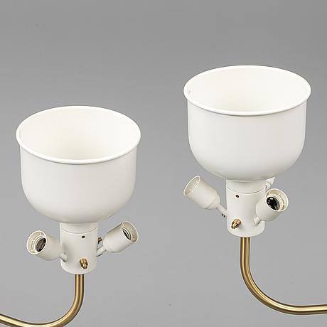 Josef frank, a pair of model 2368 floor lights.
