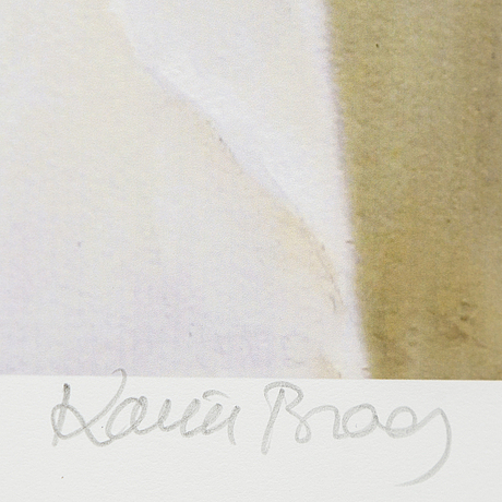 Karin broos, giclée print, signed karin broos and numbered 14/90 in pencil.
