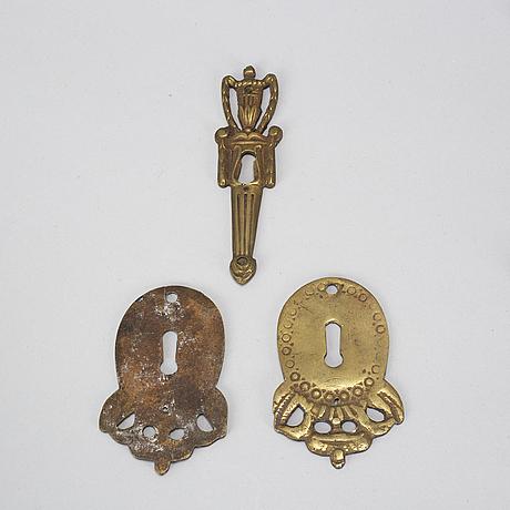 Beslag, 23 st, 1800/1900-tal.