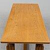 Carl malmsten, a oak dining table.