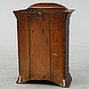 A swedish early 19th century hanging cabinet.