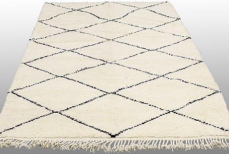 A carpet, morocco, ca 245 x 172 cm.