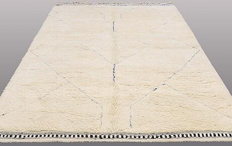 A carpet, morocco, ca 307 x 217 cm.