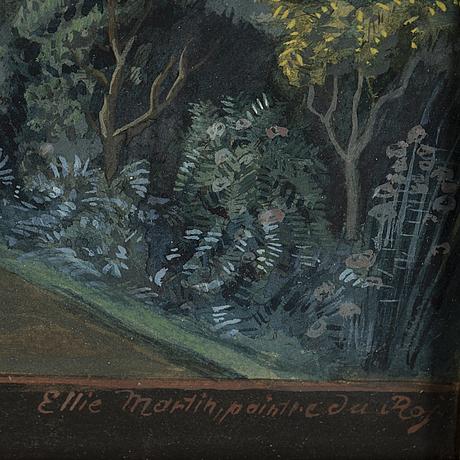 Elias martin, after, watercolour, 20th century.