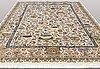 A carpet, figural kashmar, ca 390 x 296 cm.