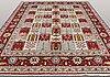 A carpet, sarouk, 405 x 292 cm.