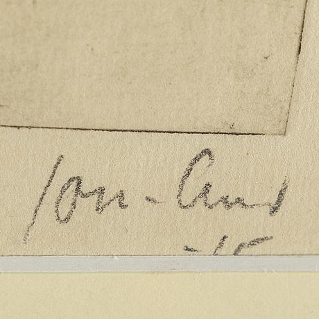 John jon-and, etsning. sign och dat -15. numr 6/30.