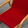 Yngve ekstrÖm, 'laminett', easy chairs, a pair, swedese. 21th century.