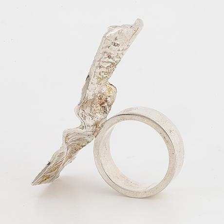 Rolf karlsson, sterling silver ring.