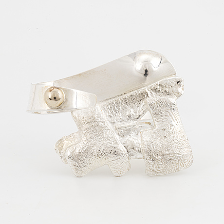A rolf karlsson sterling silver ring.