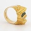 "Lapponia ring 18k guld med zoisit ""pagodi""."