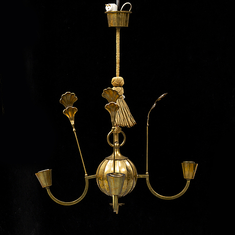 Elis bergh, taklampa, swedish grace, 1920-tal.