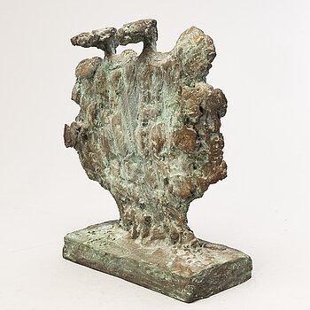 KARI JUVA, bronze, signed and dated -90.