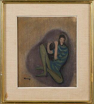 ELVI MAARNI, oil on canvas, signed.