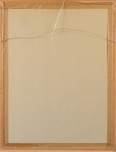 Pauli vuorisalo, gouache, signed and dated -96.