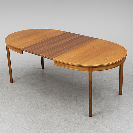 Bertil fridhagen, a 'sörgården' walnut table.