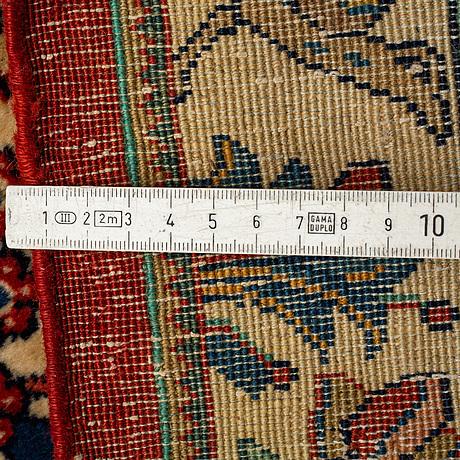 A carpet old, tabriz probably 354 x 244 cm.