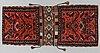 A semi-antique west persian saddlebag, circa 127 x 54,5 cm.