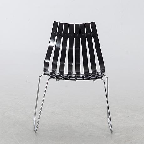 Hans brattrud, chair 'scandia junior', designed in 1957.