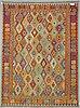 A carpet, kilim 291 x 202 cm.
