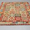 A carpet, kilim 244 x 177 cm.