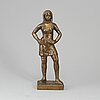 Astri bergman-taube, sculpture, bronze, signed and with founders marks.