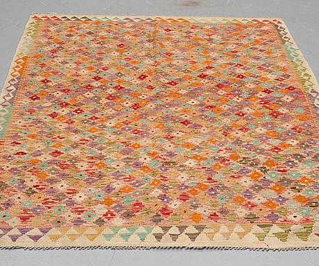 A rug, kilim 236 x 159 cm.
