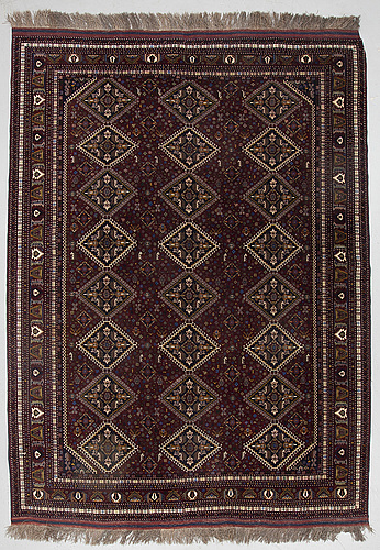 A carpet, afghan, ca 290 x 208 cm.