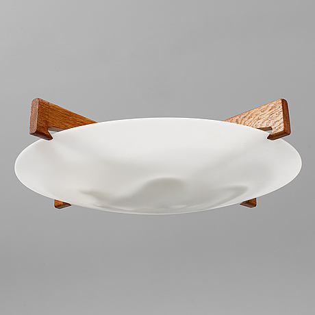 """A """"plafo"""" ceiling lamp, designed by uno & Östen kristiansson for luxus."""