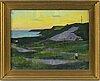 Johan johansson, oil on canvas, signed.