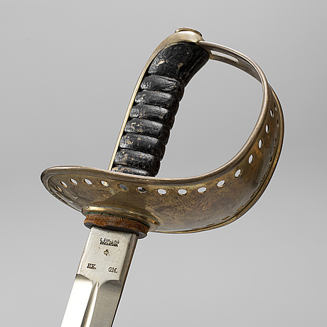 A swedish cavalry sword, model 1893.