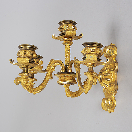 A pair of empire wall-sconces.