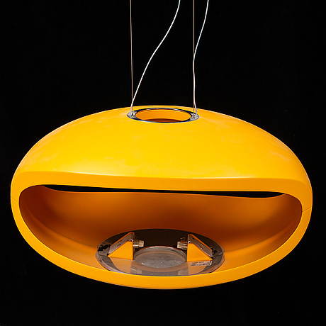An 'o space' ceiling light by luca nichetto och gianpietro gai for foscarini, designed 2003.