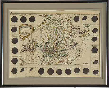 George smith, map, hand coloured engraving, e. cave, london, england, 1748.
