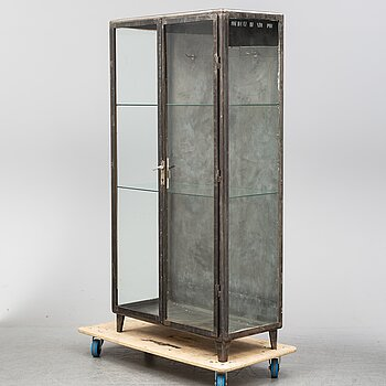 A mid 20th Century display cabinet.
