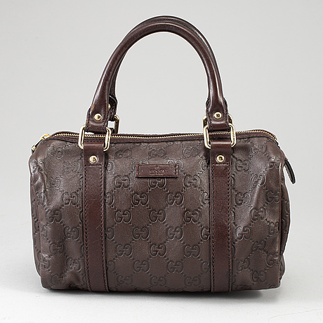 Gucci, guccissima leather joy boston bag.