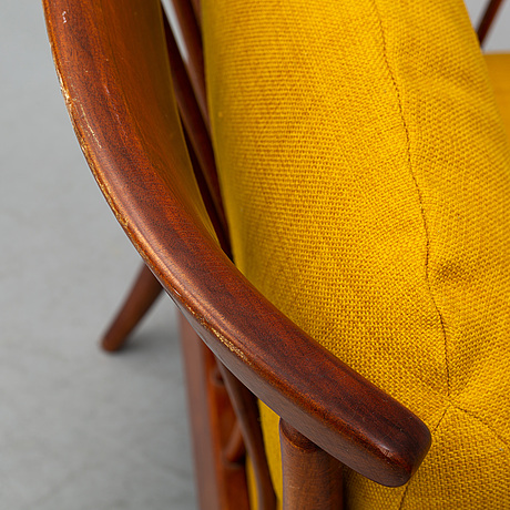 Kerstin hÖrlin-holmquist, a pair of 'skrindan' easy chairs, ope-möbler.