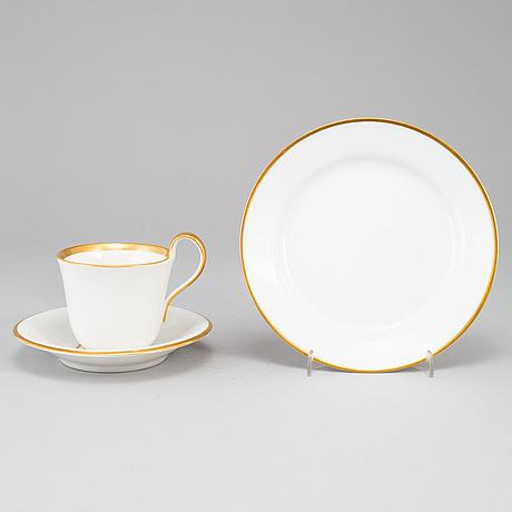 Royal copenhagen, a part coffee service, denmark (13 pieces).