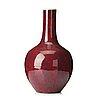 A  flambé glazed vase, qingdynasty, 19th century.