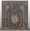 A carpet, kashmar, ca 398 x 298 cm.