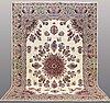 A carpet, kerman, ca 432 x 297 cm.