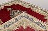A carpet, kerman, ca 365 x 280 cm.