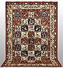 A carpet, figural baktiari, ca 310 x 205 cm.